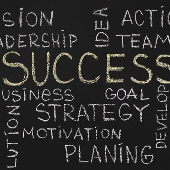 Schlagworte succes